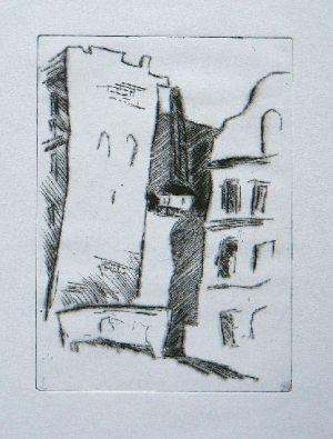 Liberec 2, 20,7 x 14,5 cm, 2005, Kaltnadel